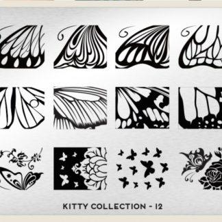 Пластина для стемпинга MoYou London (Kitty Collection-12)