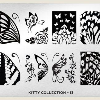 Пластина для стемпинга MoYou London (Kitty Collection-13)