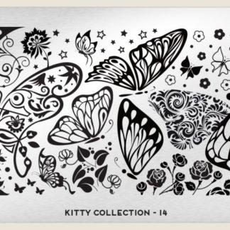 Пластина для стемпинга MoYou London (Kitty Collection-14)