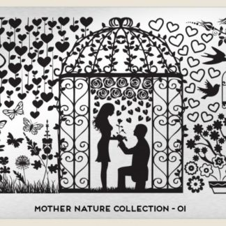Пластина для стемпинга MoYou London (Mother Nature Collection-01)