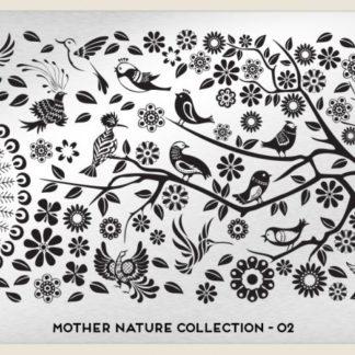 Пластина для стемпинга MoYou London (Mother Nature Collection-02)