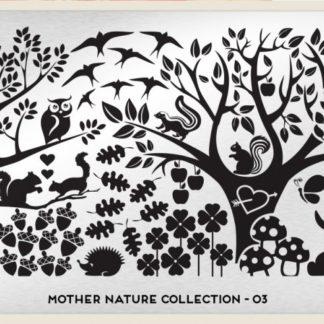 Пластина для стемпинга MoYou London (Mother Nature Collection-03)