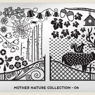 Пластина для стемпинга MoYou London (Mother Nature Collection-04)