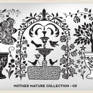 Пластина для стемпинга MoYou London (Mother Nature Collection-05)
