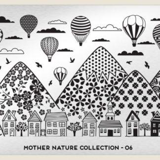 Пластина для стемпинга MoYou London (Mother Nature Collection-06)
