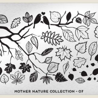 Пластина для стемпинга MoYou London (Mother Nature Collection-07)