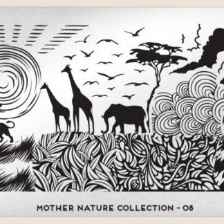 Пластина для стемпинга MoYou London (Mother Nature Collection-08)