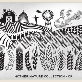 Пластина для стемпинга MoYou London (Mother Nature Collection-09)