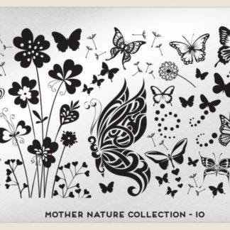 Пластина для стемпинга MoYou London (Mother Nature Collection-10)