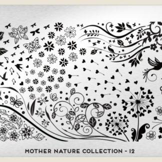 Пластина для стемпинга MoYou London (Mother Nature Collection-12)