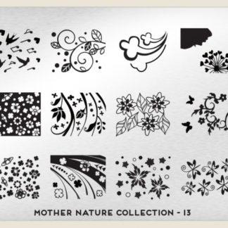 Пластина для стемпинга MoYou London (Mother Nature Collection-13)