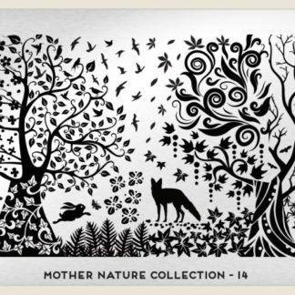 Пластина для стемпинга MoYou London (Mother Nature Collection-14)