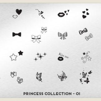 Пластина для стемпинга MoYou London (Princess Collection-01)