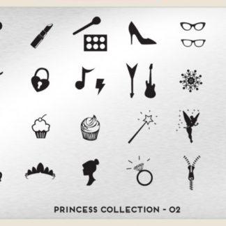 Пластина для стемпинга MoYou London (Princess Collection-02)