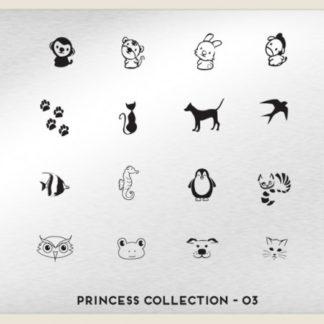 Пластина для стемпинга MoYou London (Princess Collection-03)