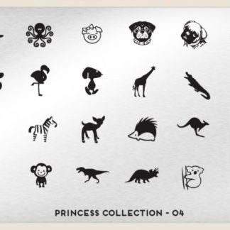 Пластина для стемпинга MoYou London (Princess Collection-04)