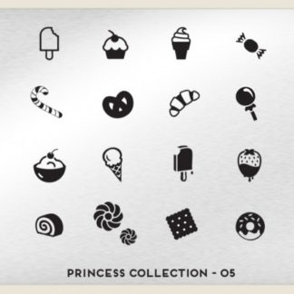 Пластина для стемпинга MoYou London (Princess Collection-05)