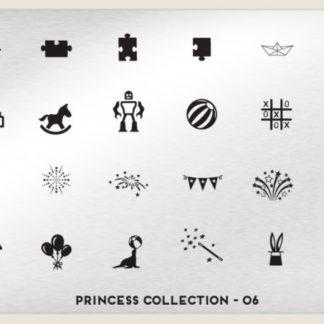 Пластина для стемпинга MoYou London (Princess Collection-06)