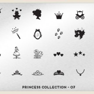 Пластина для стемпинга MoYou London (Princess Collection-07)
