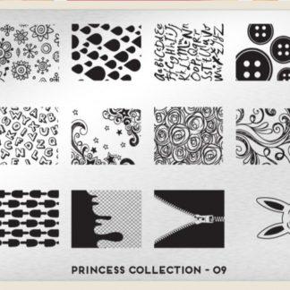Пластина для стемпинга MoYou London (Princess Collection-09)