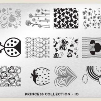Пластина для стемпинга MoYou London (Princess Collection-10)