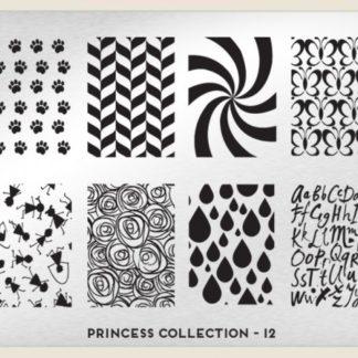 Пластина для стемпинга MoYou London (Princess Collection-12 XL Addition)