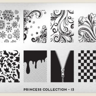 Пластина для стемпинга MoYou London (Princess Collection-13 XL Addition)