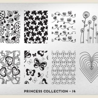 Пластина для стемпинга MoYou London (Princess Collection-14 XL Addition)