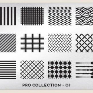 Пластина для стемпинга MoYou London (Pro Collection-01)