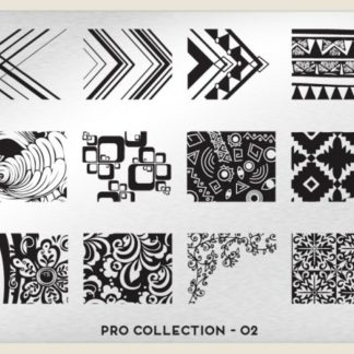 Пластина для стемпинга MoYou London (Pro Collection-02)