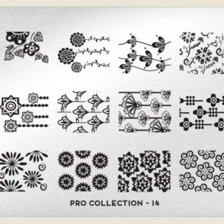 Пластина для стемпинга MoYou London (Pro Collection-14)