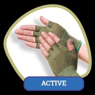 Подперчатки анти-пот Handy boo active