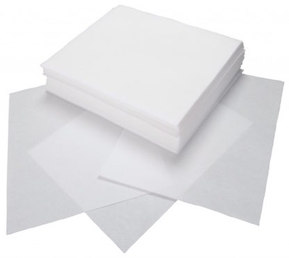 Безворсовые салфетки на тканевой основе 100 шт.