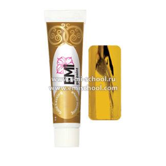Гель-краска GLOSSEMI Золотое литье 5 г. E.MI