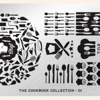 Пластина для стемпинга MoYou London (Cook Book Collection-01)