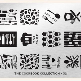 Пластина для стемпинга MoYou London (Cook Book Collection-02)