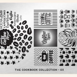 Пластина для стемпинга MoYou London (Cook Book Collection-03)