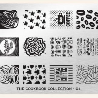 Пластина для стемпинга MoYou London (Cook Book Collection-04)