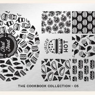 Пластина для стемпинга MoYou London (Cook Book Collection-05)