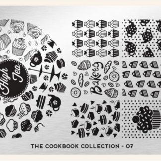 Пластина для стемпинга MoYou London (Cook Book Collection-07)