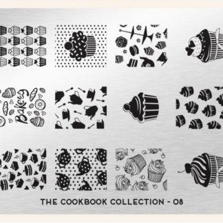 Пластина для стемпинга MoYou London (Cook Book Collection-08)