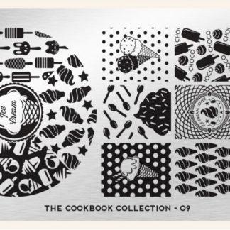 Пластина для стемпинга MoYou London (Cook Book Collection-09)
