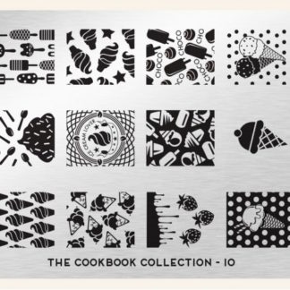 Пластина для стемпинга MoYou London (Cook Book Collection-10)