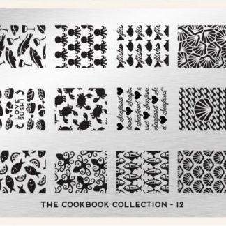Пластина для стемпинга MoYou London (Cook Book Collection-12)