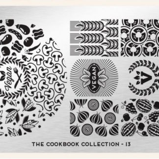 Пластина для стемпинга MoYou London (Cook Book Collection-13)