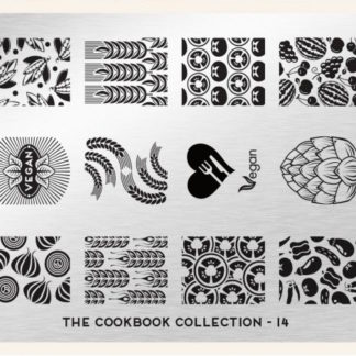 Пластина для стемпинга MoYou London (Cook Book Collection-14)