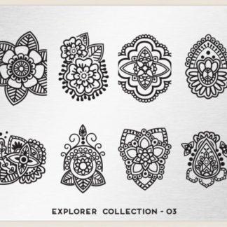 Пластина для стемпинга MoYou London (Explorer Collection-03)