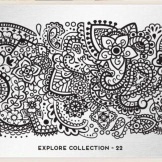 Пластина для стемпинга MoYou London (Explorer Collection-22)