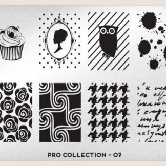 Пластина для стемпинга MoYou London (Pro XL Collection-07)