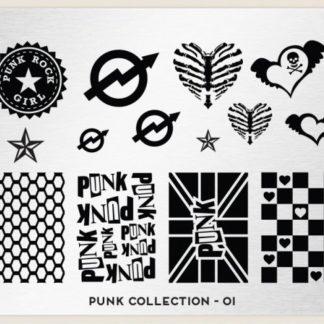 Пластина для стемпинга MoYou London (Punk Collection-01)